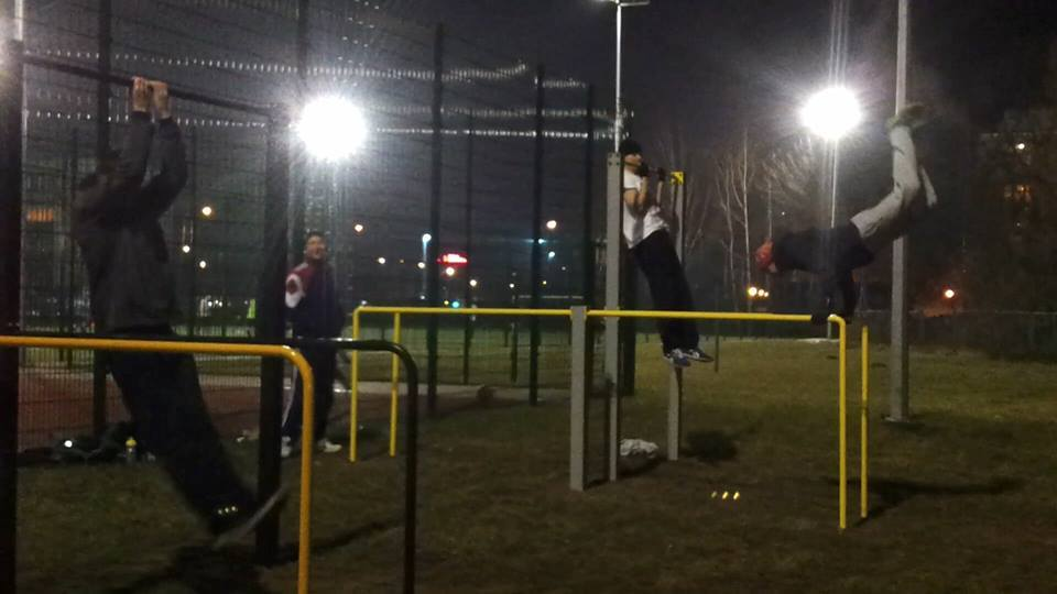 Park do Street Workout - Trening
